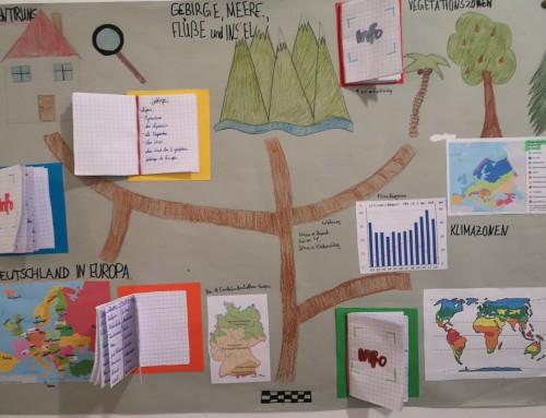 Europareise – Schüler gestalten Lernlandkarten (04.12.2019)