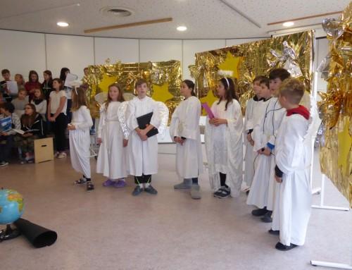Ein weihnachtliches Musical – gespielt und gesungen von den Klassen 5a/b (17.12.2019)