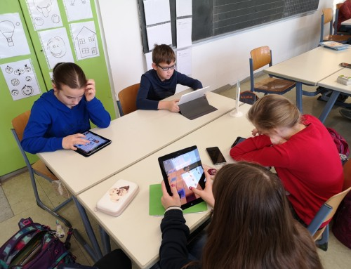 """""""Zockertag"""" in der Klasse 6a (06.01.2020)"""